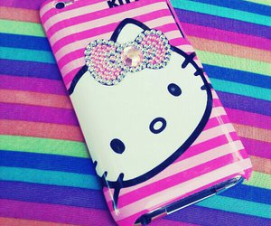 case, ipod, and hello kitty image