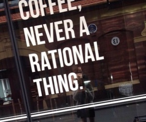 city, coffee, and quote image