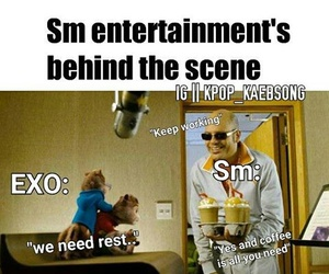 exo, kpop, and sm entertainment image