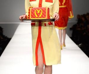 McDonald's, Moschino, and runway image