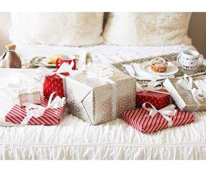 bed, christmas, and classy image