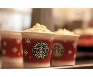 christmas, drink, and coffee image