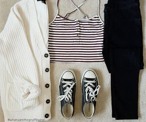 fall fashion, cute outfit, and fall outfit image