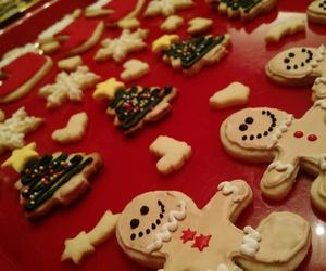 christmas, sweet, and Cookies image