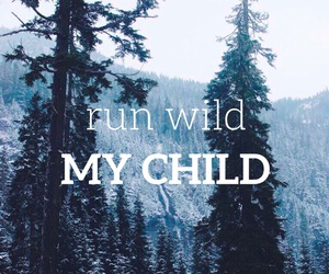 run, wild, and child image
