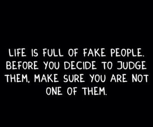 fake, judge, and dont image