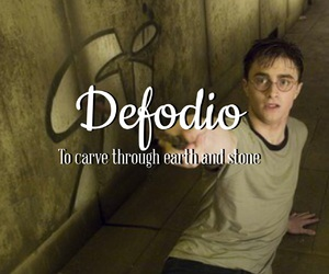 harry potter, spell, and potter image
