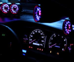 car, grunge, and glow image