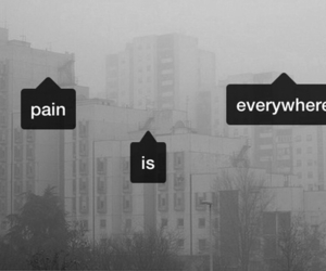 pain, sad, and grunge image