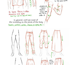 clothes and drawing image