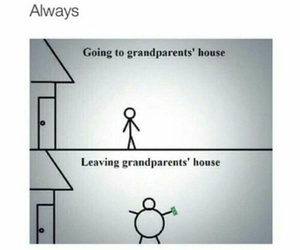grandparents, funny, and money image