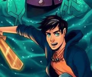 poseidon, percy jackson, and percy image