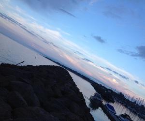 canada, eau, and paysage image