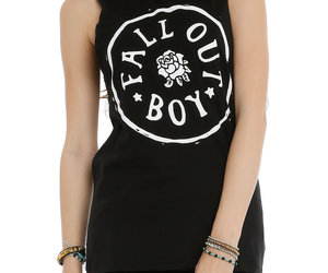 fall out boy, FOB, and hot topic image