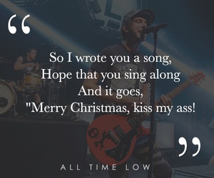 all time low, kiss, and sarcasm image