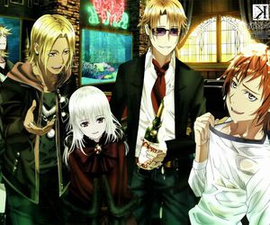 k project, anime, and K image