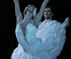ballet, beautiful, and Swan image
