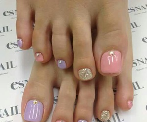 nails, beauty, and feet image