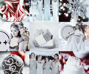 christmas, Collage, and pretty little liars image