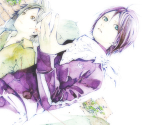 anime, noragami, and noragami aragoto image