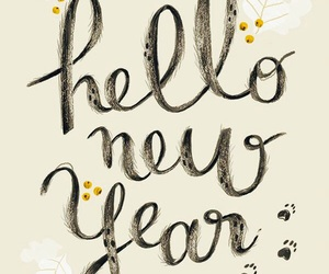 new year, hello, and 2016 image