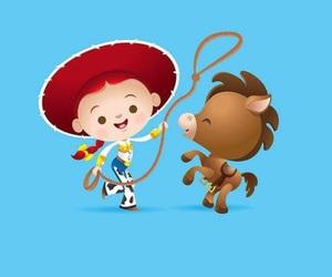 toy story, disney, and jessie image