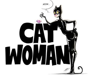 catwoman, comic, and gotham city image