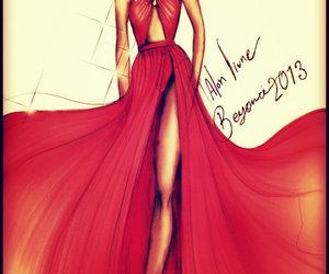 beyoncé, fashion, and drawing image