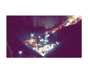 christmas, lights, and cold image