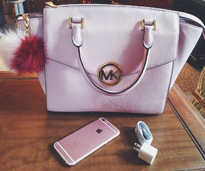 iphone, Michael Kors, and pink image