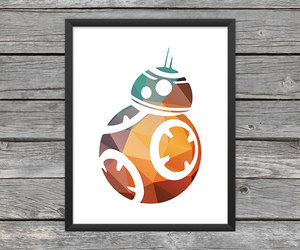 etsy, r2-d2, and star wars poster image