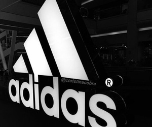 adidas, black, and tumblr image