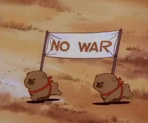 no war, dog, and puppy image