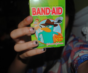 bandaid and perry image