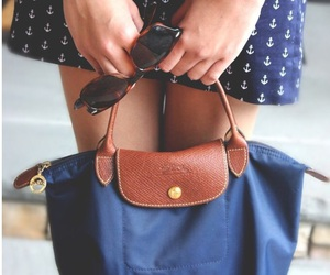 preppy, purse, and long champ image