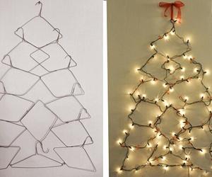 christmas, diy, and hanger image