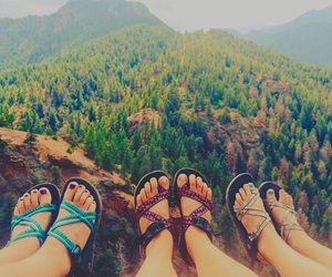 adventure, mountains, and chacos image