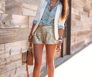 beauty, gold, and style image