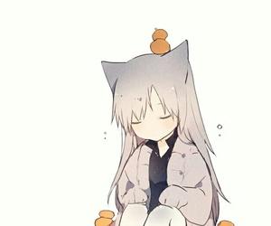 anime, pixiv, and girl image
