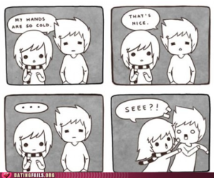comic, couple, and cute image