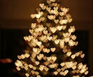christmas, new year, and hearts image