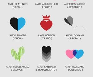 amor, filosófico, and heart image