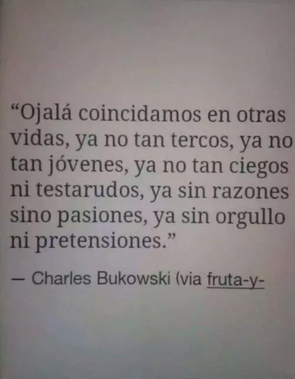 Charles Bukowski Uploaded By Roxana Ca On We Heart It