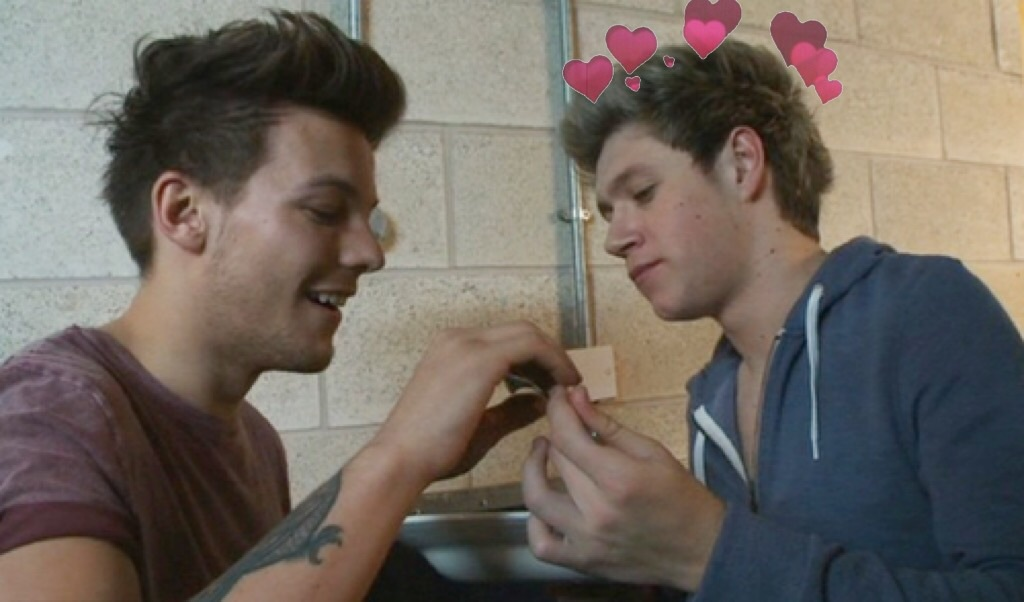 heart, louis, and one direction image