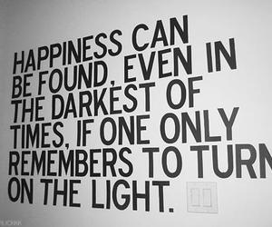 quotes, happiness, and light image