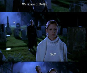 btvs, buffy the vampire slayer, and spuffy image