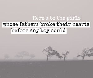 broken heart, dad, and father image