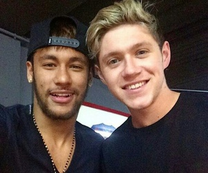 neymar, niall horan, and one direction image