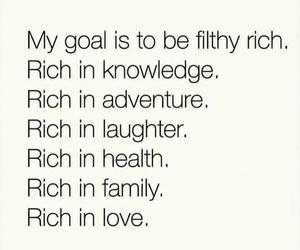 quotes, goals, and rich image