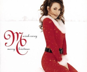 Mariah Carey and christmas image
